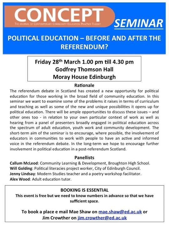 Concept Political Education