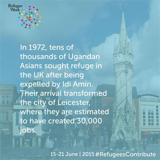 refugees Leicester