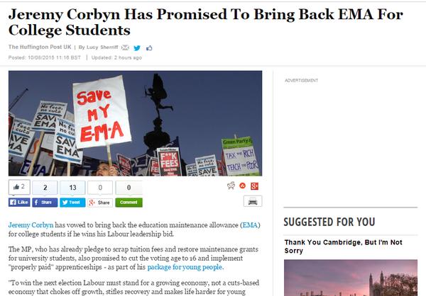 EMA Corbyn