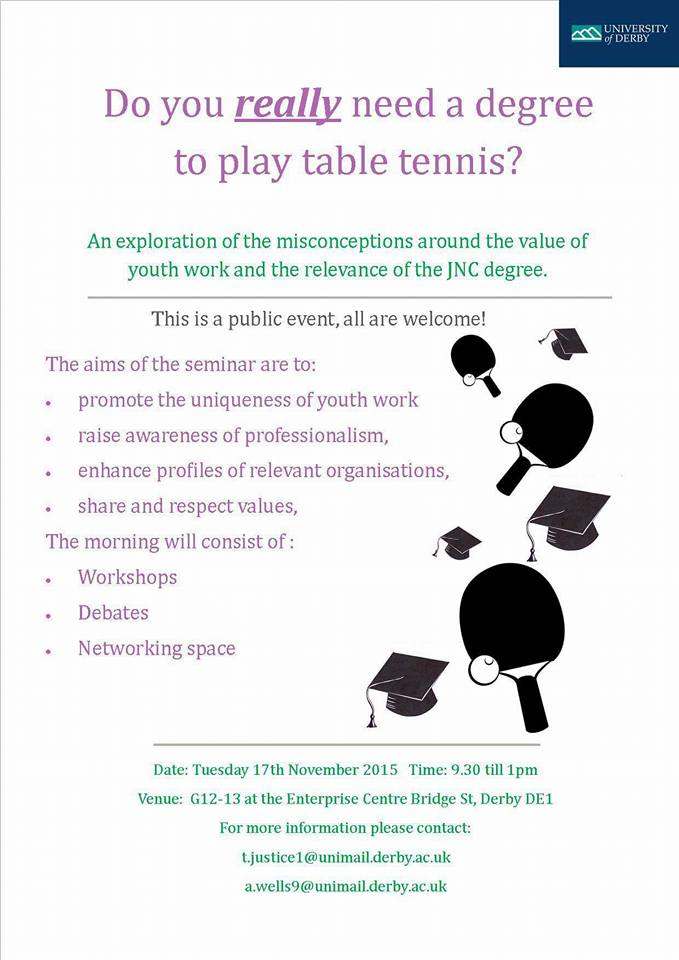 Do you really need a degree to play table tennis? « IN ...