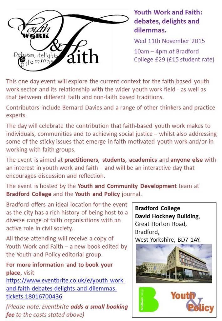 youth work and faith