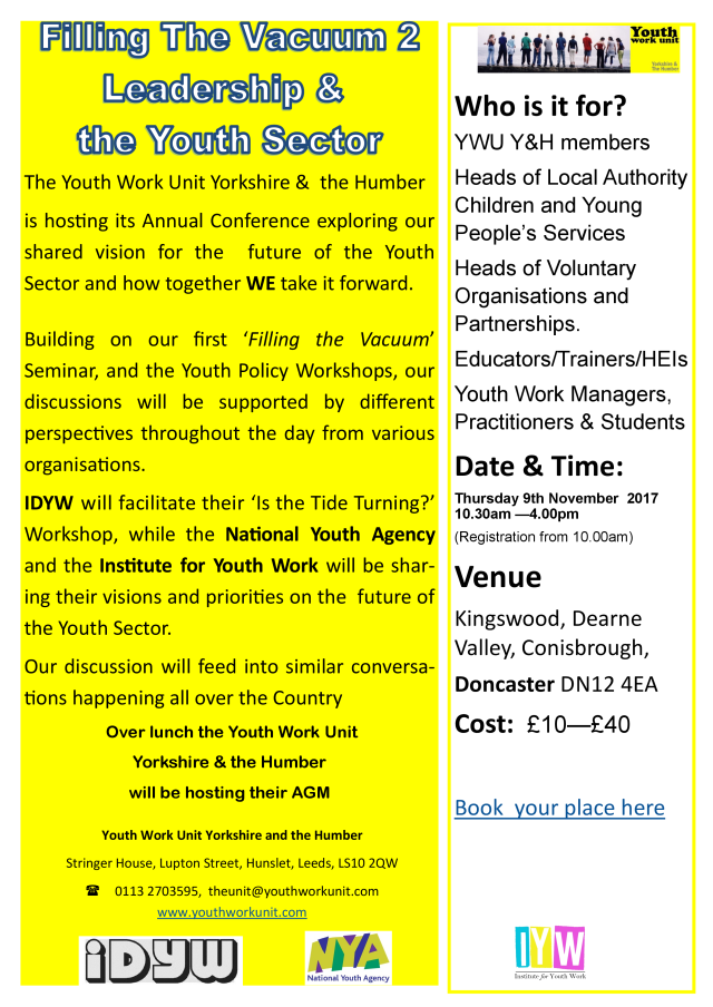 YWU-Annual-Conference-9th-November-1