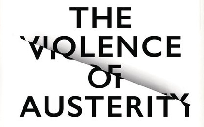 The violence of austerity cover - cropped