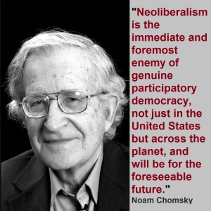 Noam Chomsky Neoliberalism